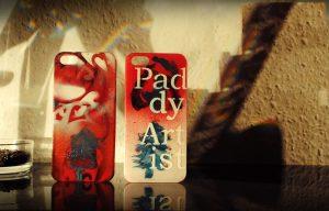 Paddy Artist ART IPhone Case Christmas