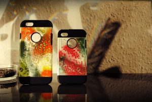 Paddy Artist ART IPhone Case:Cover colorful Gecko